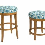 Amazing Cool Nice Creative Turquoise Bar Stool With Round Concept And Has Nice Surface Decoration With Wooden Legs 728x468