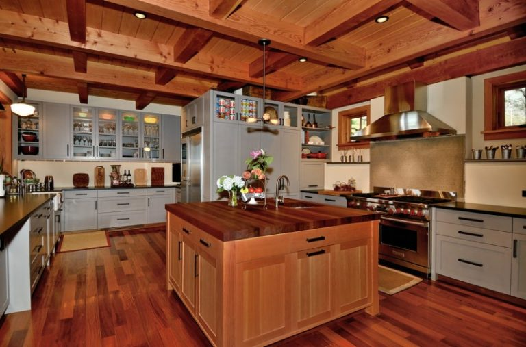 Light Gray Kitchen Cabinets In Various Awesome Rooms Decohoms - Light grey kitchen cabinets with wood floors