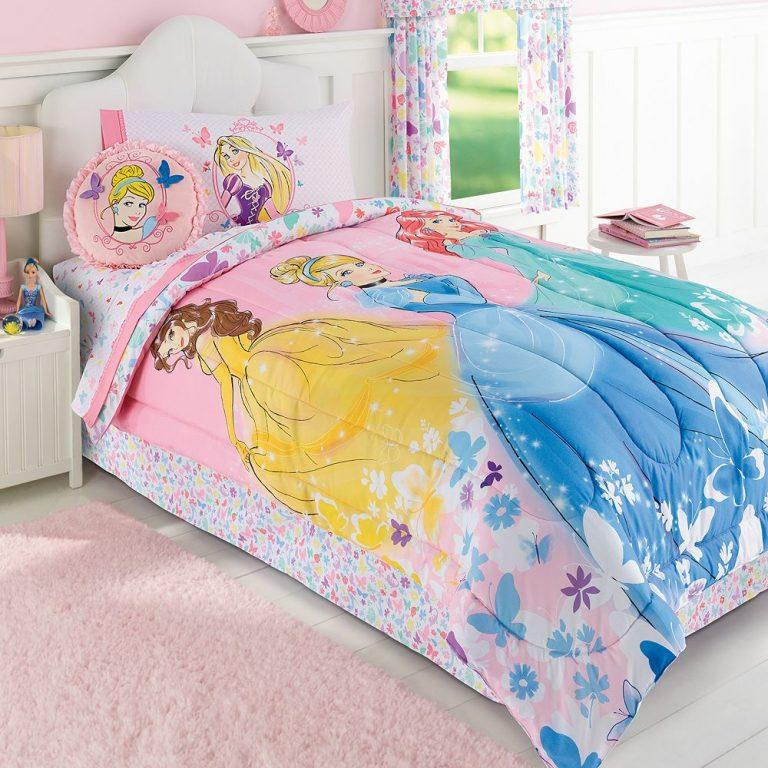 Disney Princess Twin Bedding Set For A Wonderful Gift