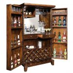 Wine Liquor Bar And Cabinet