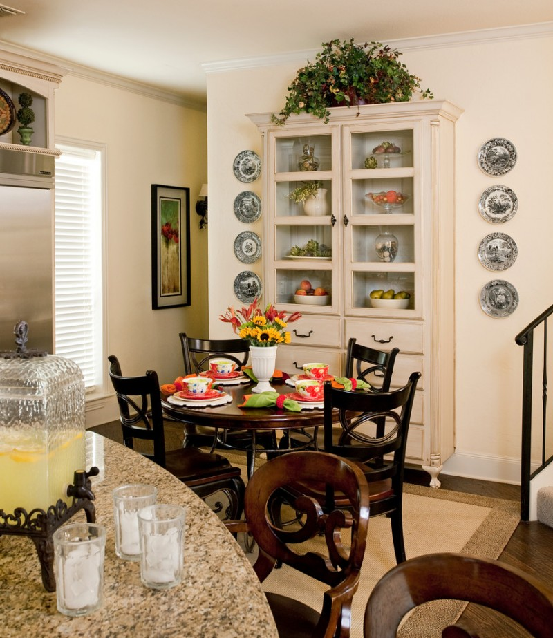 Keep all your china safe in beautiful cabinet decohoms for China kitchen cabinets