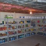 basement storage idea