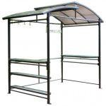Contemporary Unique Roof Aluminum Gazebo Kit