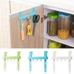cupboard door rack kitchen organizer