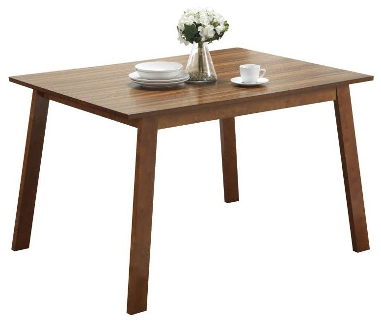dining tables with brown zebra wood material