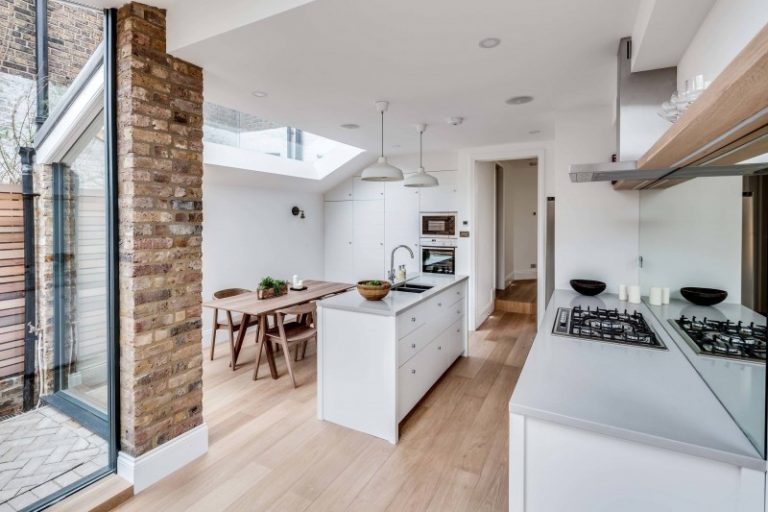 Finding your Inspiration in White Galley Kitchen | Decohoms