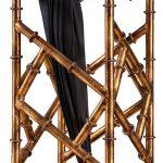 Golden Metal Sling Umbrella Stand