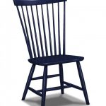 navy blue traditional based Windsor Chair