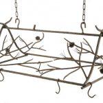 Rustic Branch Hanging Pot Racks