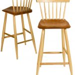 small tall brown wooden windsor chair