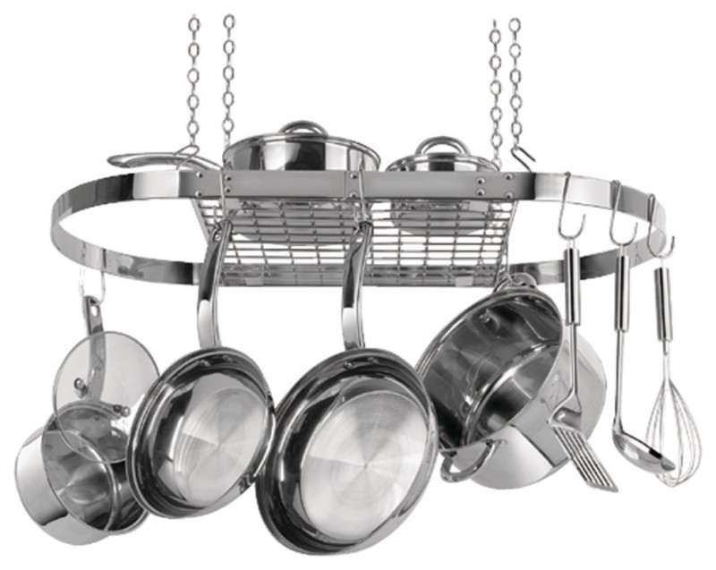 stainless steel hanging pot racks