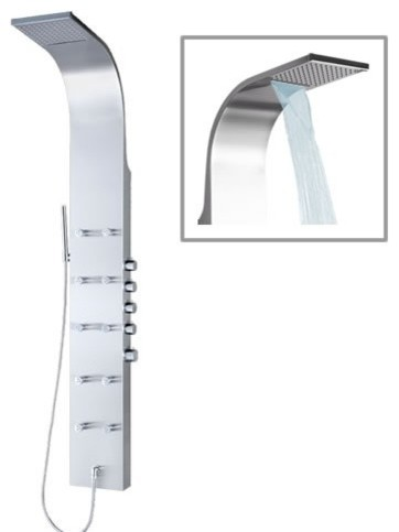 thermostatic stainless steel shower head