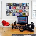 wall floating vinyl storage