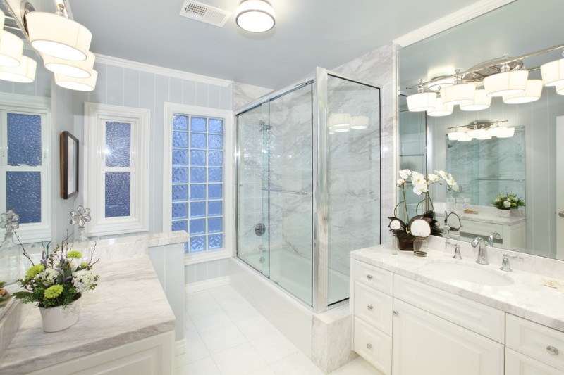 Cool White Bathroom Ideas To Apply In Your Bathroom Decohoms