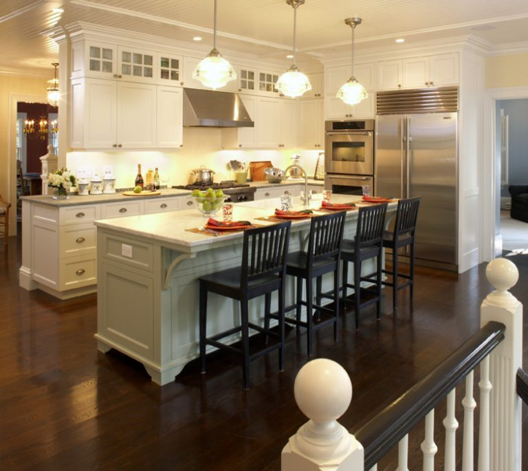 Kitchen Island With Cabinets And Seating: Hanging Around The Kitchen Island