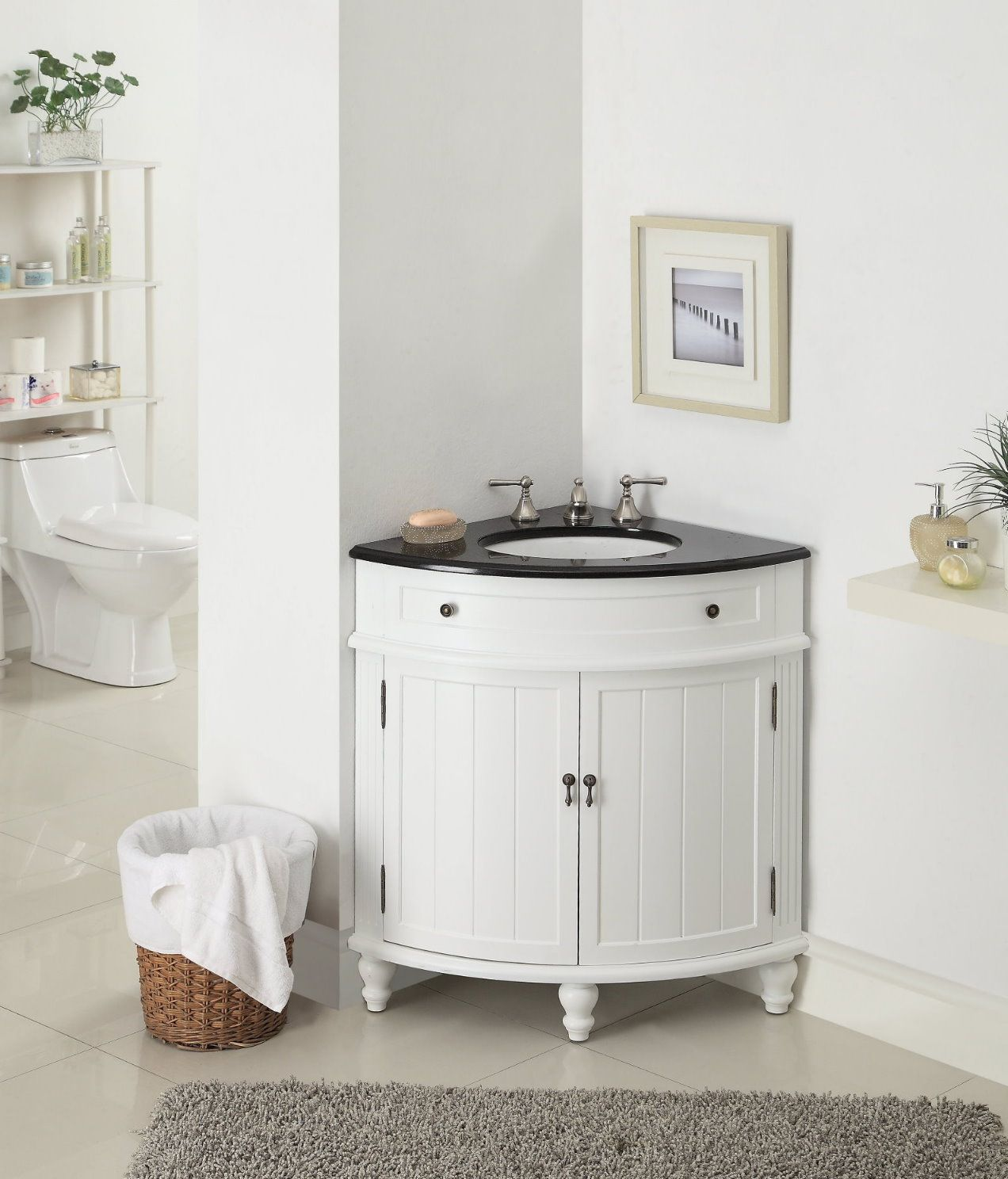 Corner Cabinet For Your Bathroom A Beauty To Save Space: corner cabinet small bathroom