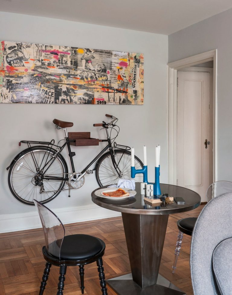 Bike rack for apartment ideas for more effective storage - Apartment dining room ideas ...