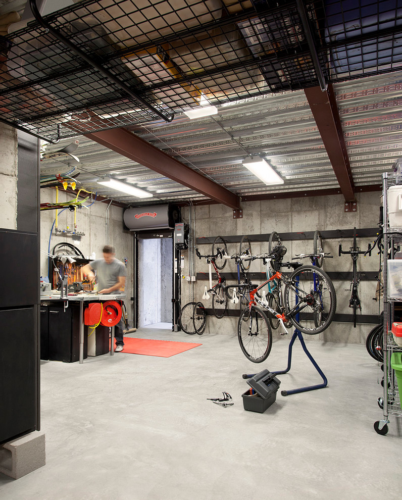 Bike rack for apartment ideas for more effective storage for Apartment garage storage