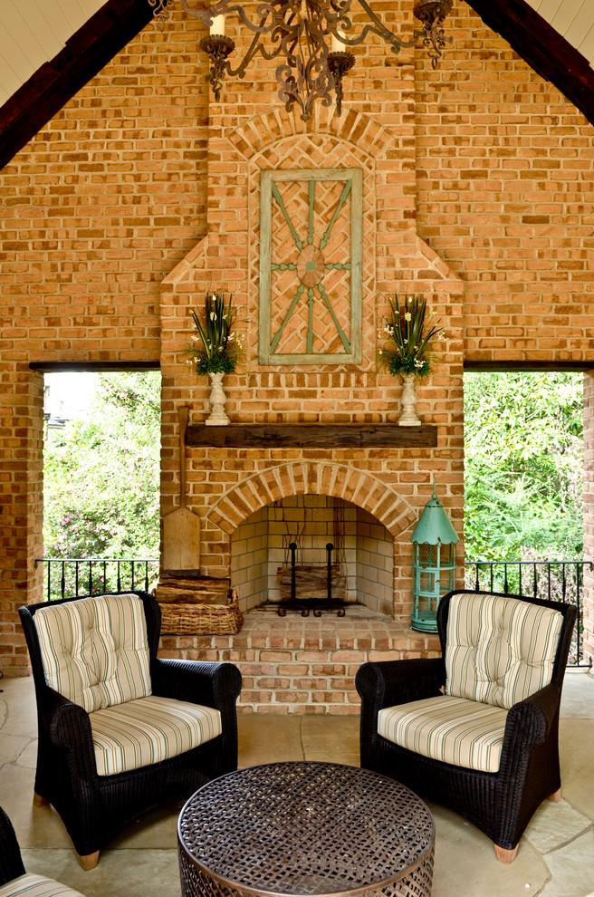 Cedar Mantle Brick Fireplace Designs Get Inspirations