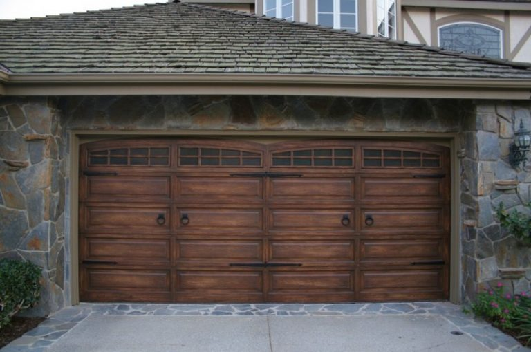Ingenious Ideas Of Dark Garage Doors Decohoms