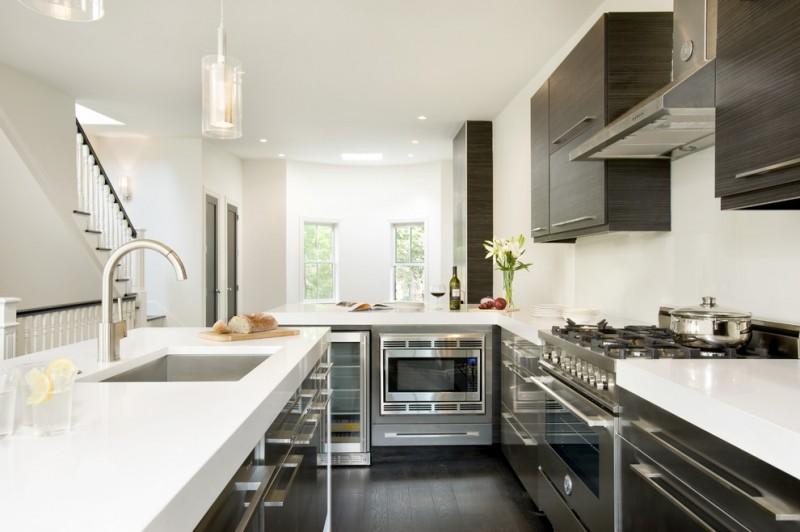 Modern Kitchen Quartz Countertops great grey quartz countertop white kitchen combo ideas to try