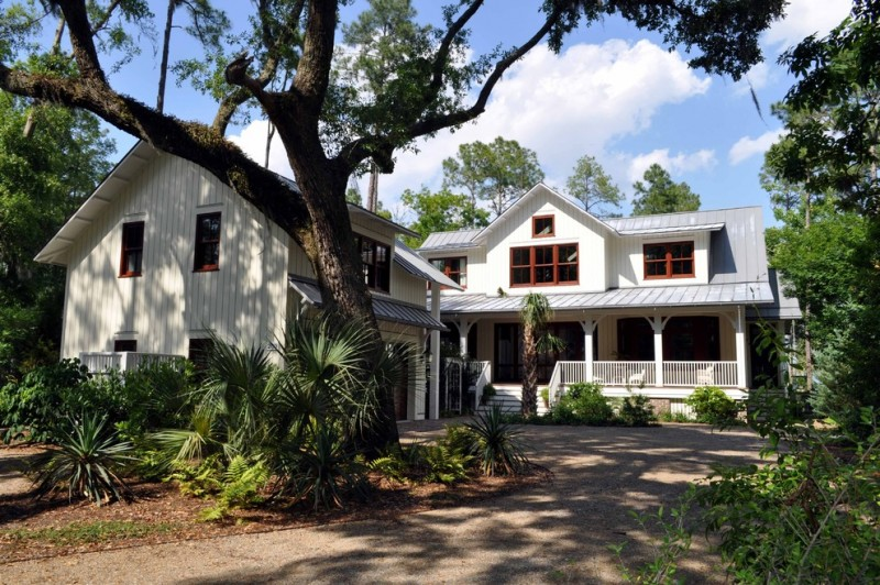 hill country house plans classic style stairs pillars railing white windows glass roof doors traditional design