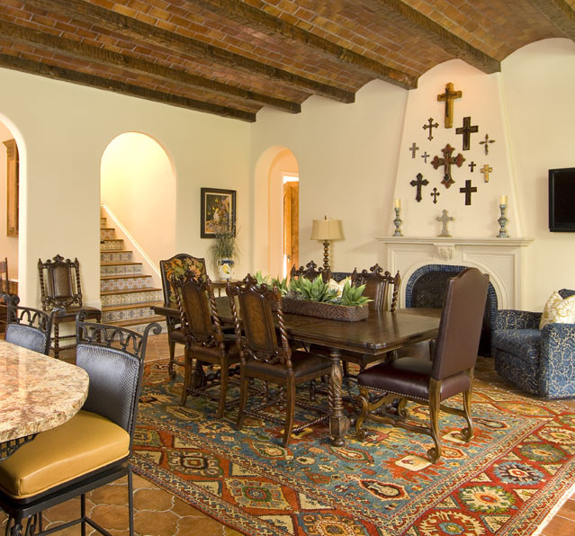 mediterranean spanish in your dining room – decohoms