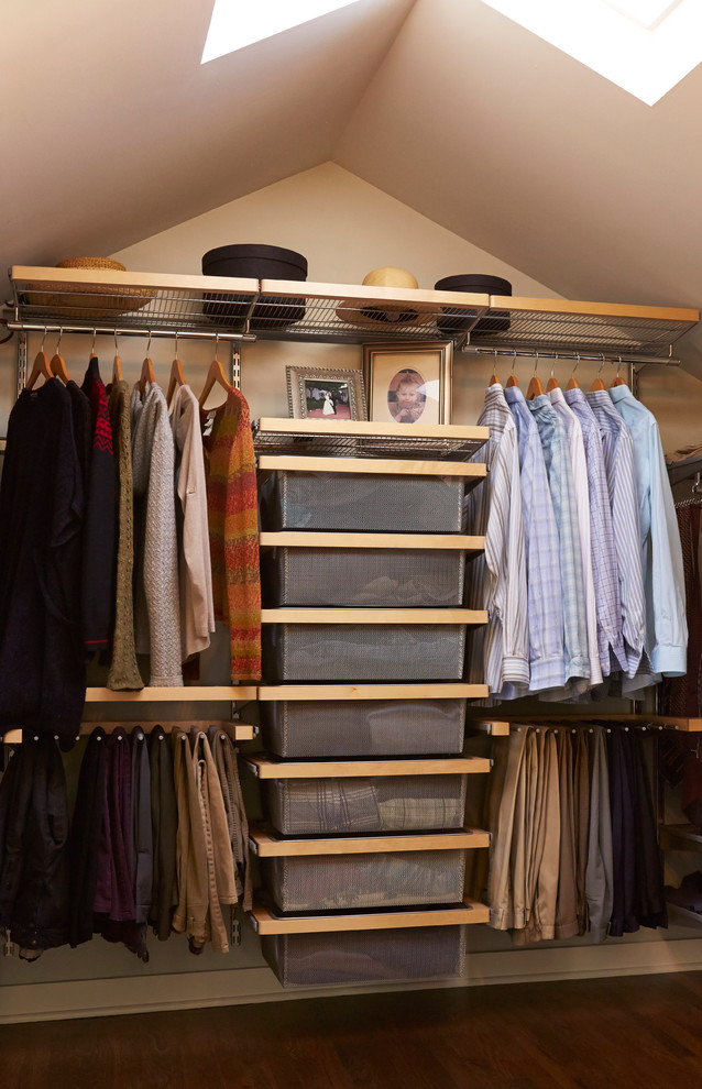 men's small closet organizer idea equipped with bag hangers shelving system vertical arranged box storage system and upper shelf