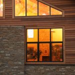Modern Exterior Windows In Square And Triangle Shapes