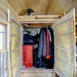 Modern Rustic Closet Idea In Small Size