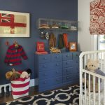 Room Decor With Toy Carpet Window Hardwood Floor Drawers Wall Rack Shirt Toys Toy Container Nursery