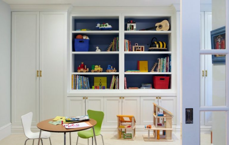 Room Decor With Toy Chairs Table Door Books Shelves Cabinet Toys Interior Kids  Room Eclectic Room