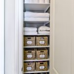 Simple Small Vertical Closet Organizer For Linens
