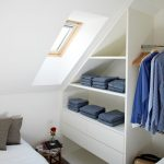 Small Corner Wardrobe Closet Organizer Idea In White Small Sized Skylight Small Side Table