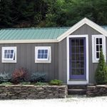 Small Size Wood Cottage Idea With Multicolor Exterior