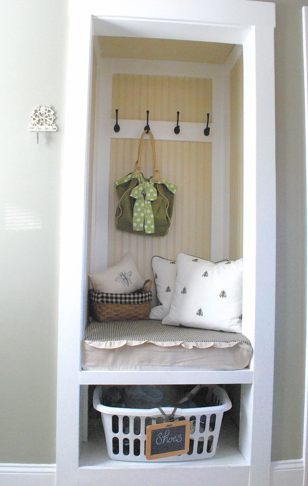 traditional closet design with nest