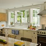 window outside finishing designs casement windows stove kitchen appliances cabinets glass dining chairs table