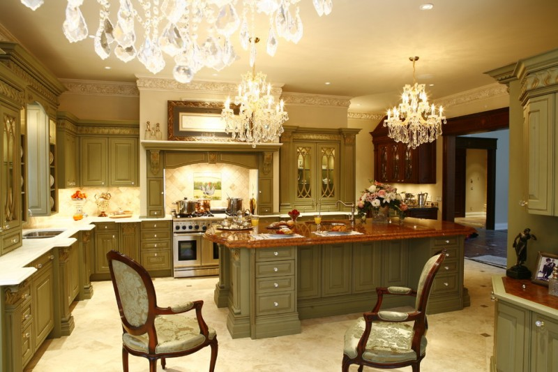 Victorian kitchen for the old grand look decohoms for Victorian kitchen designs