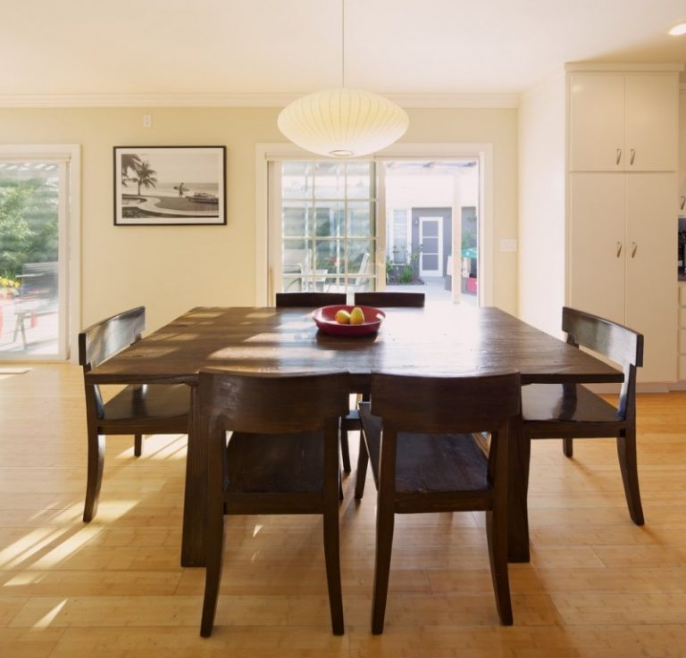 Bench Dining Room Table Combinations in a Dining Area | Decohoms