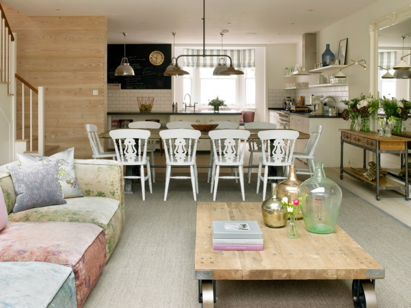 Living Room Kitchen Combinations awesome combination of dining, living and kitchen to be amazed