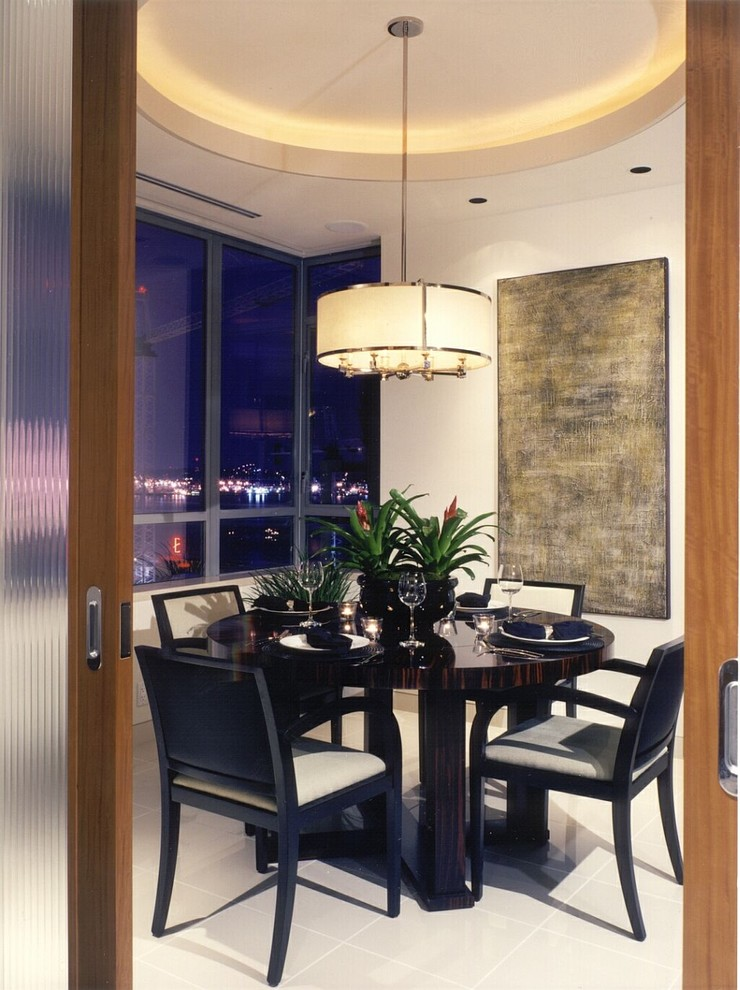 Lighting to pamper you in dining room decohoms cylinder yellow pendant aloadofball Image collections