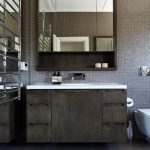 dressing room wall cabinet design big floor tiles mirror racks wash basin contemporary style