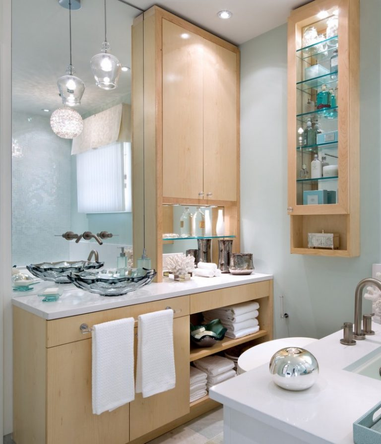 Dressing Room Wall Cabinet Towel Racks Gl Shelves Cabinets Mirror Lamp Faucet Cool Wash Basin Contemporary