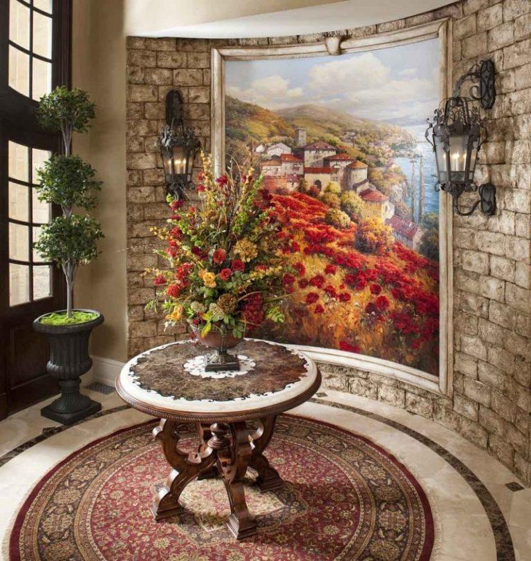 Mediterranean Foyer Decor : Favorite round entryway table ideas decohoms