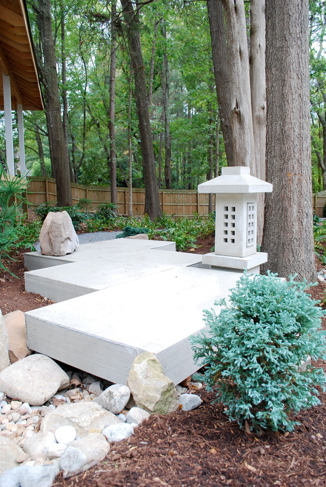 japanese garden exhibition model trees plants stones decor yatsuhashi small bridge asian landscape