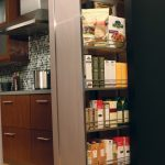 Minimalist Interior Design Storage Wood Floor Tall Pantry Contemporary Kitchen