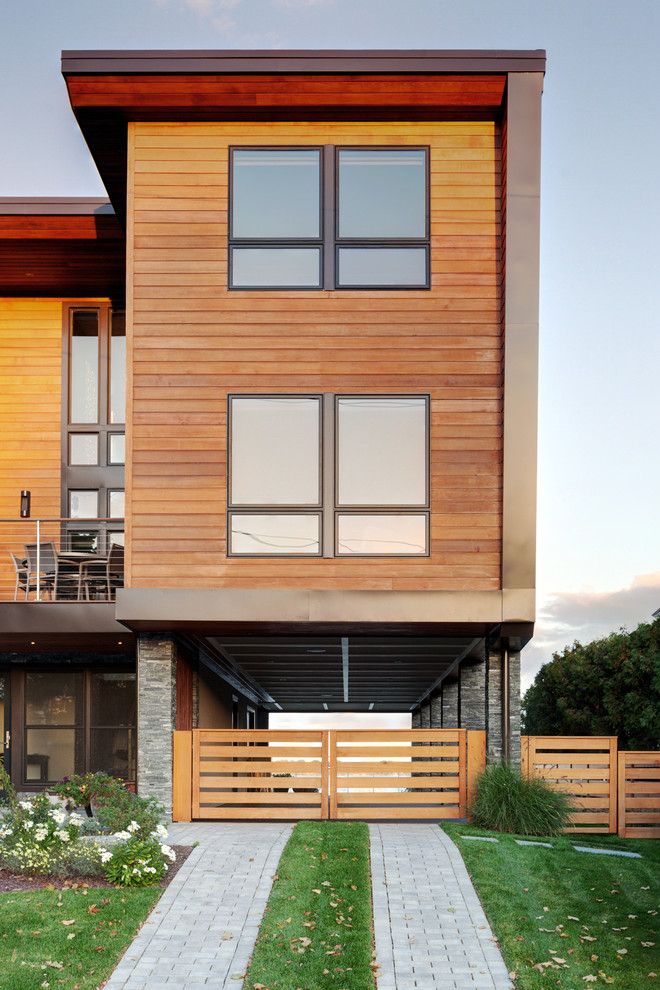 Cool modern simple wooden house designs to be inspired by for Wood house siding options