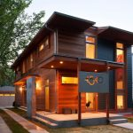 modern simple wood house windows number exterior door impressive lighting wooden walls