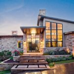 Modern Style Meets Texas Hill Country Style Home Plans