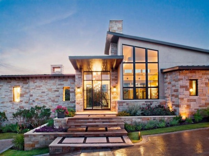 Rustic charm of 10 best texas hill country home plans Hill country style homes